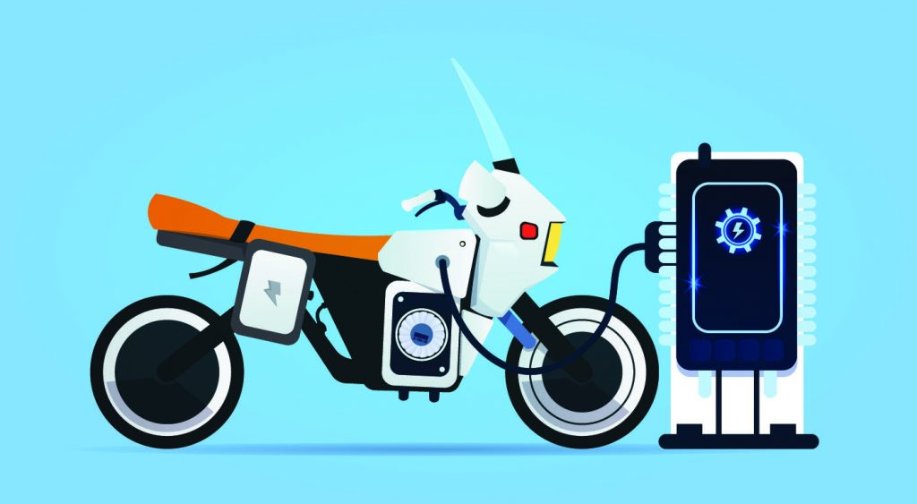 charging scooter